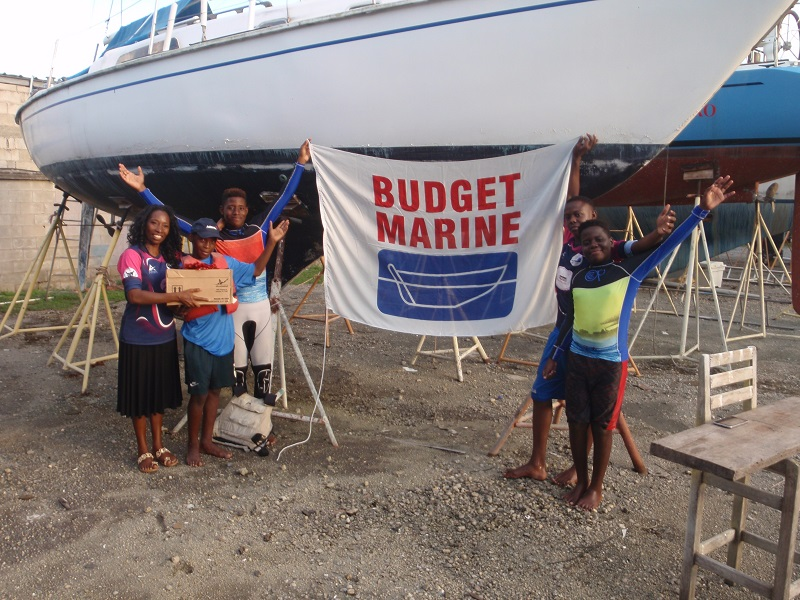 Budget Marine Trinidad sponsors products for TTSA and Vessigny Youth Sailing Schools 1