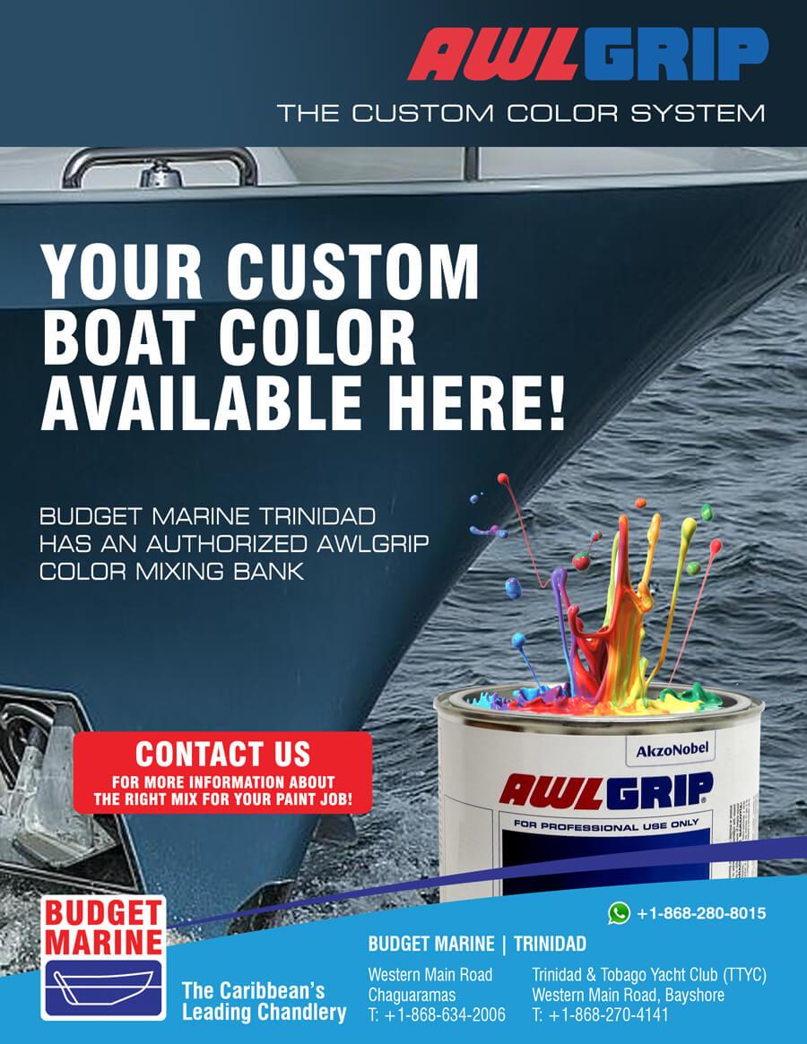 Budget Marine Trinidad - TTYC 34