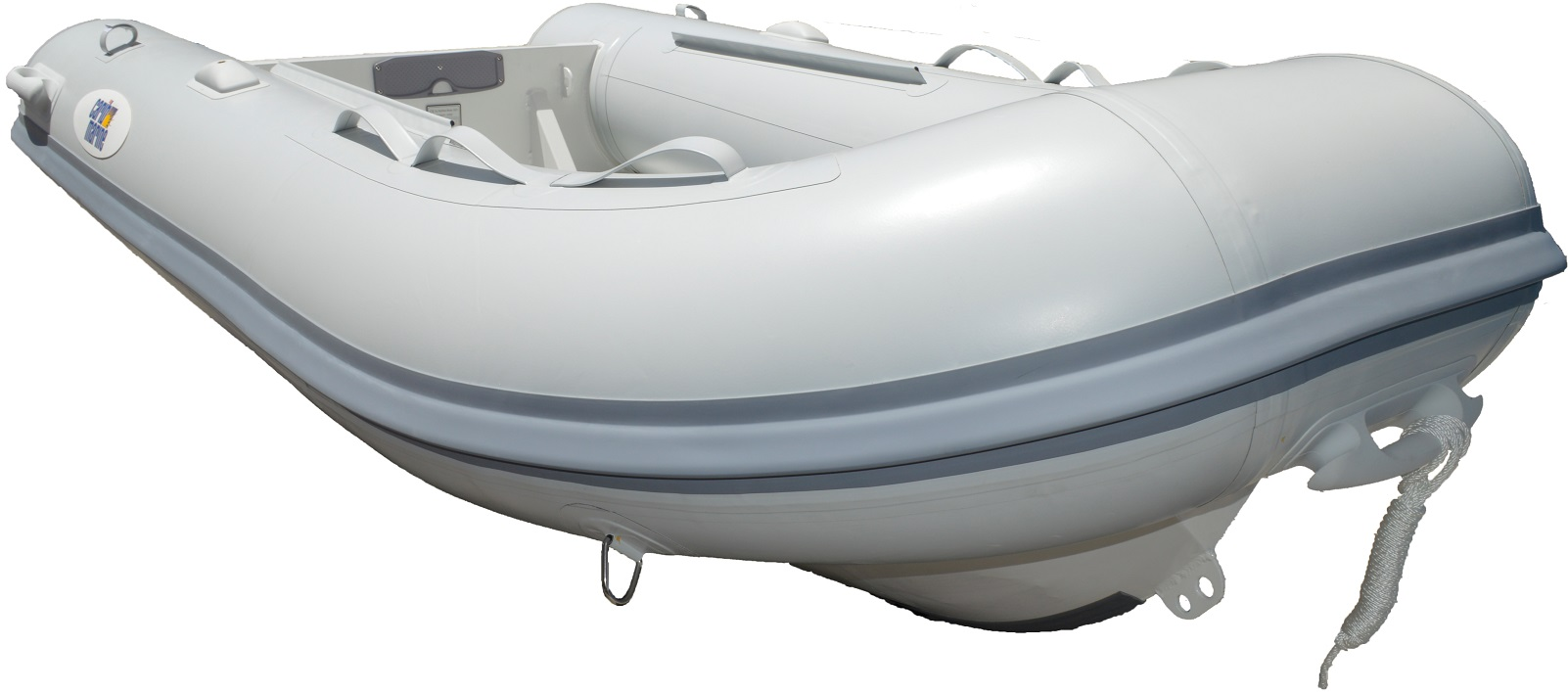 Dinghy, 4.2m 14' F'Glass Hull-Floor Grey 16