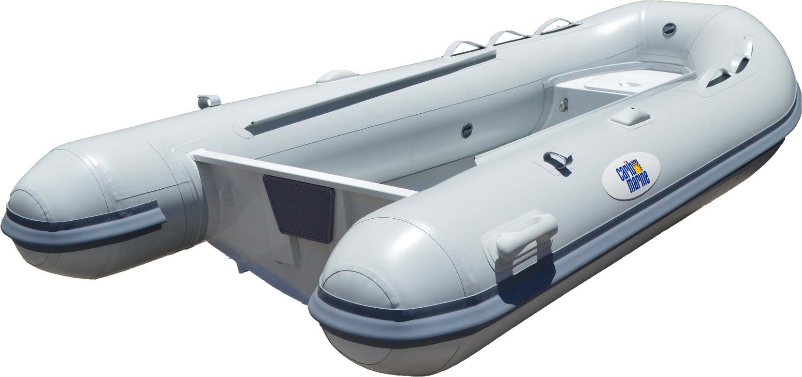 Dinghy, 4.2m 14' F'Glass Hull-Floor Grey 12