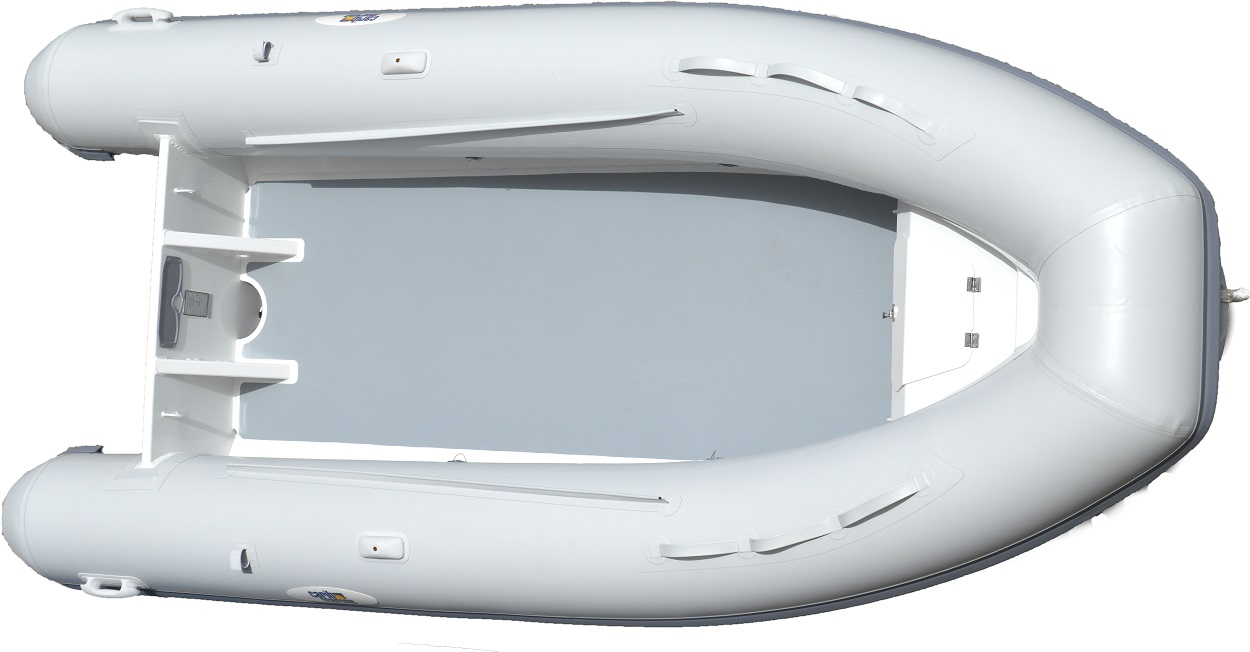 Dinghy, 4.2m 14' F'Glass Hull-Floor Grey 6
