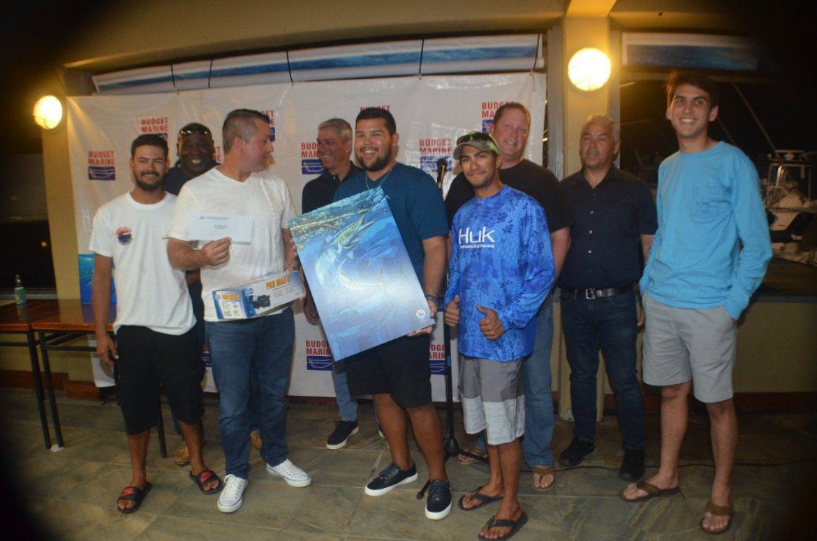 Camacho and his team Bless winners at TTGFA Budget Marine Wahoo Blow Out 1
