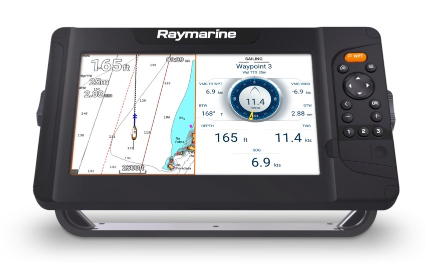 "Sonar/GPS, Element 9"" Multifunction Display - Mon GPS Avis.fr"