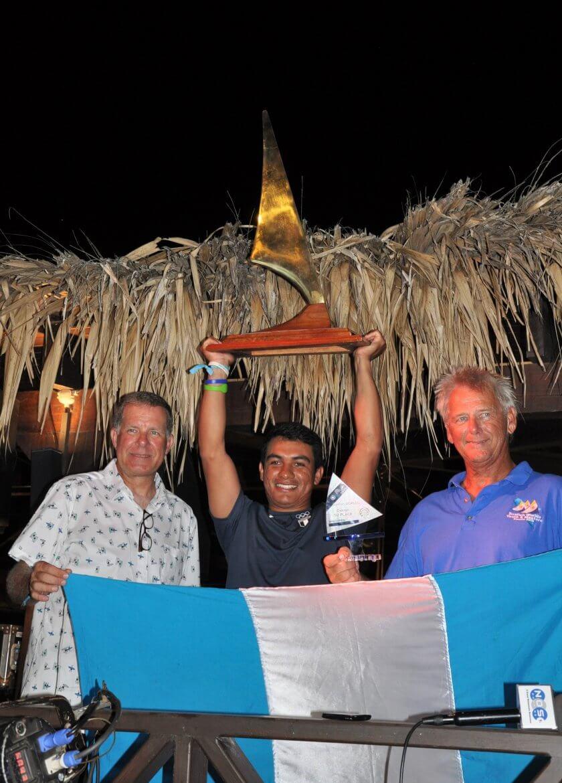 David Hernandez crowned world champion Sunfish 2019 2