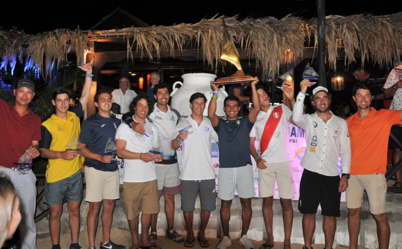 David Hernandez crowned world champion Sunfish 2019 3