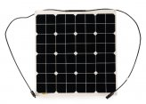 Solar Panel, with Junction Box, 54W Nordic