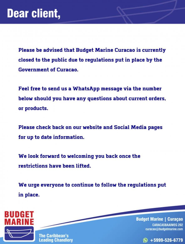 Budget Marine Curaçao 4
