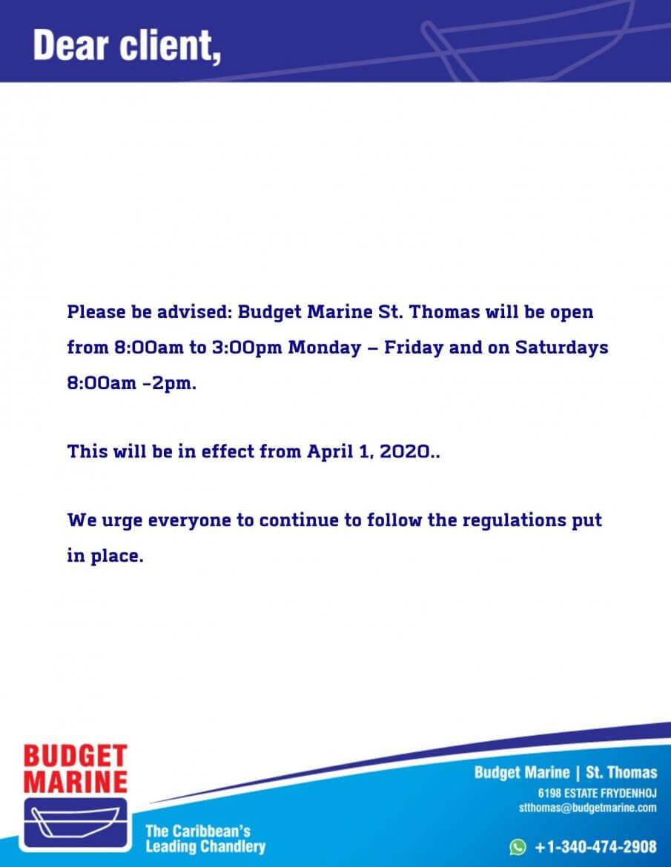 Budget Marine St. Thomas 3
