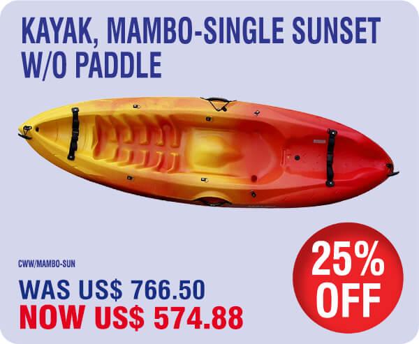 2020 St Maarten Summer Specials – Kayaks 24