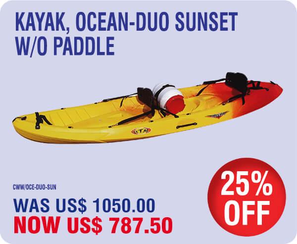 2020 St Maarten Summer Specials – Kayaks 22