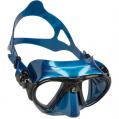 Mask, Adult Nano Blue/Black Metal