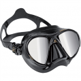 Mask, Adult Nano Black Heavy Duty Mirrored Lens