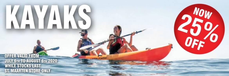 2020 St Maarten Summer Specials – Kayaks 21