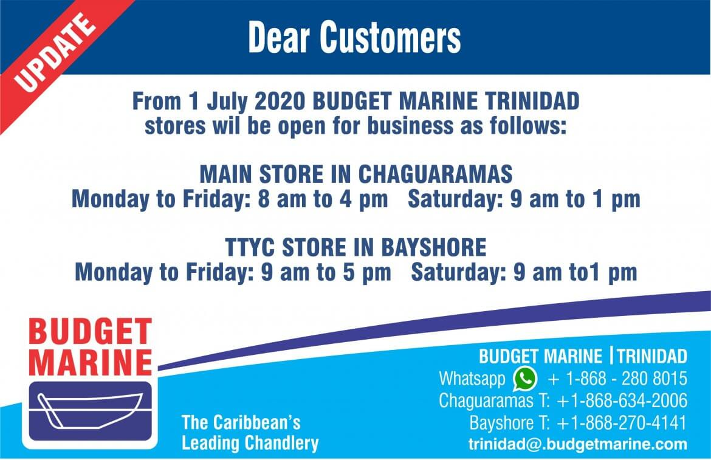 Budget Marine Trinidad - TTYC 5