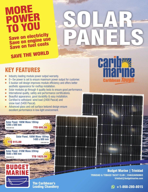 Budget Marine Trinidad - TTYC 12