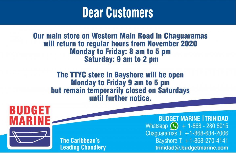 Budget Marine Trinidad - TTYC 9
