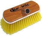Wash Brush, Soft Synthetic Wood Block Yellow