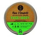 Sunscreen, Face and Body SPF 30 3oz Tin