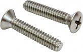 Machine Screw, Stainless Steel Ovalhead M06x50