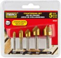 Countersink Set, Titanium Coated 5 Piece