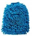 Microfiber Reggae Wash Mitt Blue