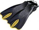 Fins, Open Heel Adjustable Size M/L Black/Yellow