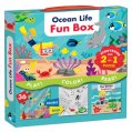Ocean Life Fun, with Storybook & Puzzle