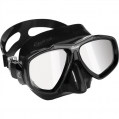 Mask, Focus Black HD Mirrored Lens