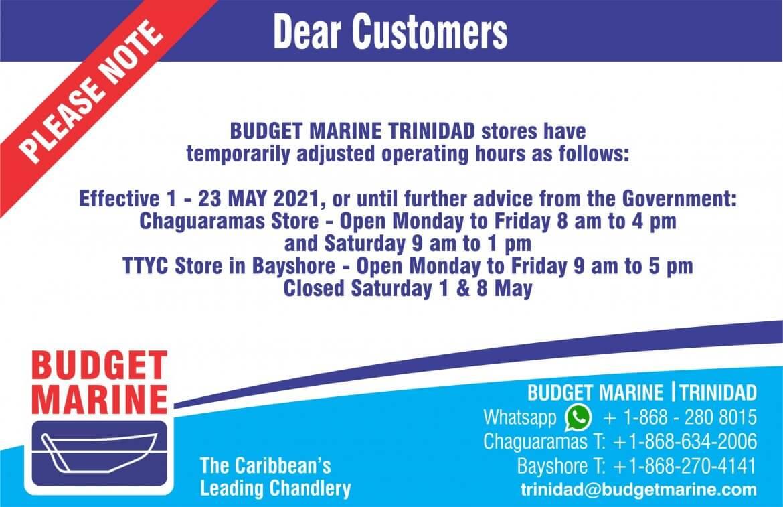 Budget Marine Trinidad - TTYC - Bayshore 28