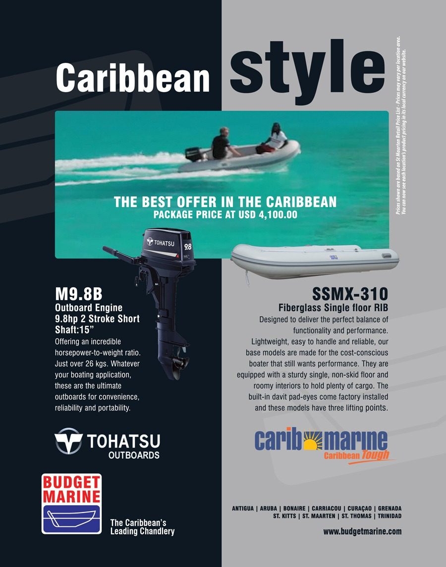 Budget Marine Antigua - North Sound 22