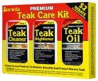 Teak Care Kit, 3x16ozBtl/48oz