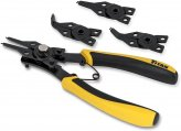 Plier Set, Snap Ring 4-in-1 Combination