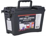 First Aid Kit, 150 Piece with Waterproof Storage Case